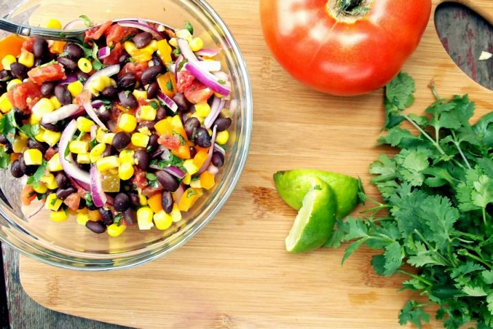 Zesty Corn and Black Bean Salsa