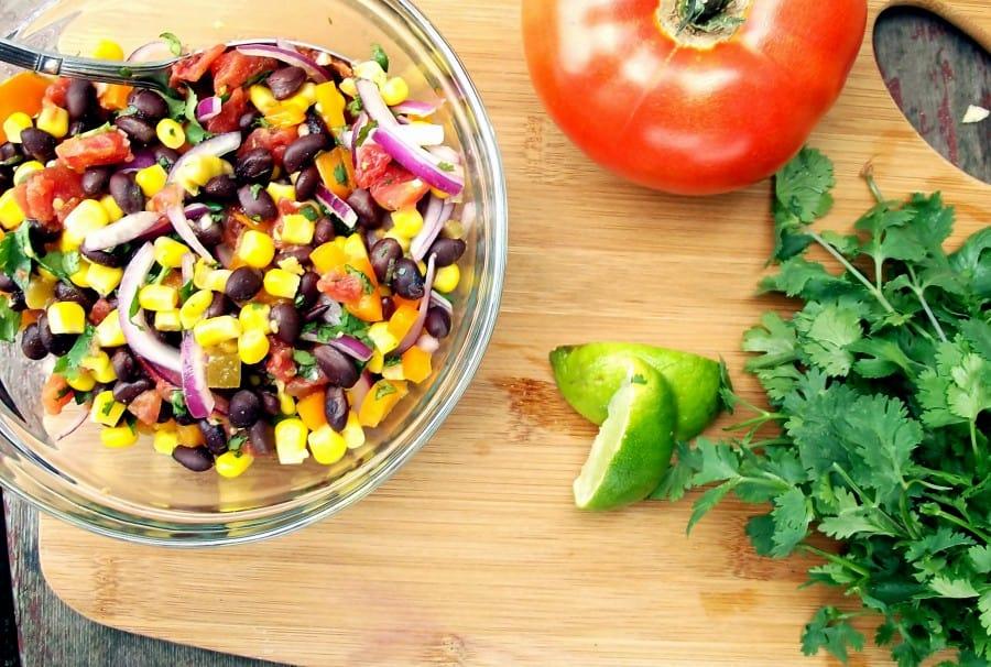 Zesty Corn and Black Bean Salsa