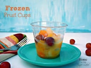 Frozen Fruit Cups