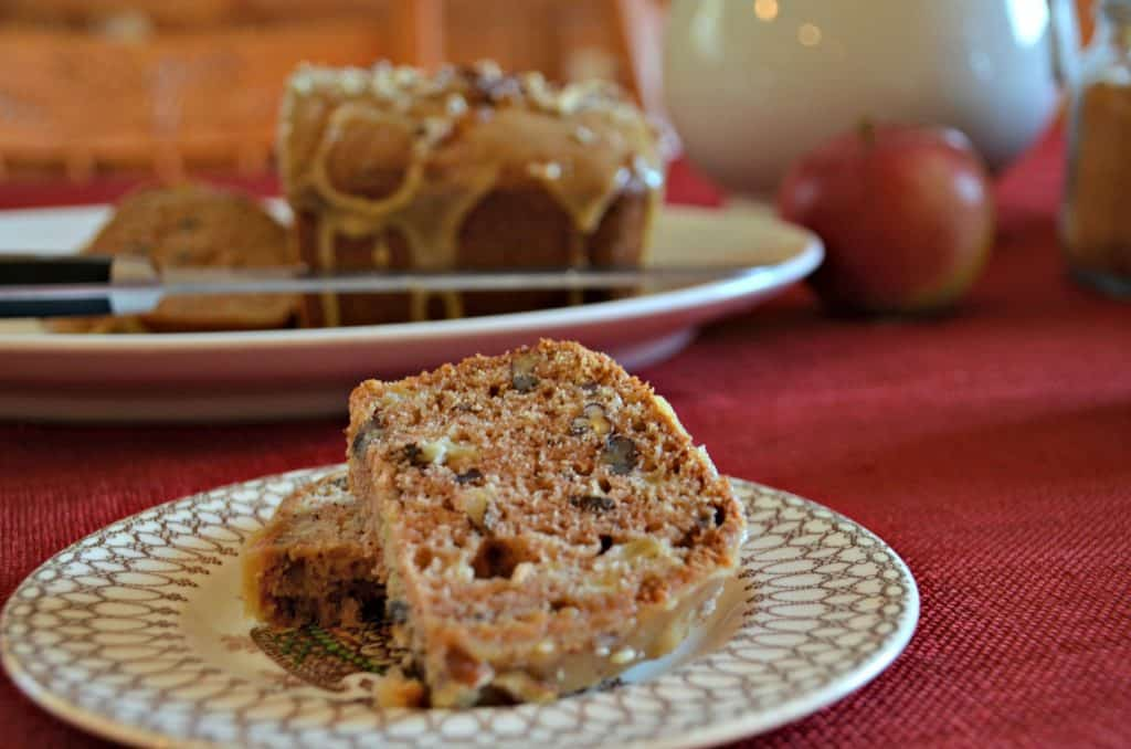 Apple Praline Bread-Home in the Finger Lakes
