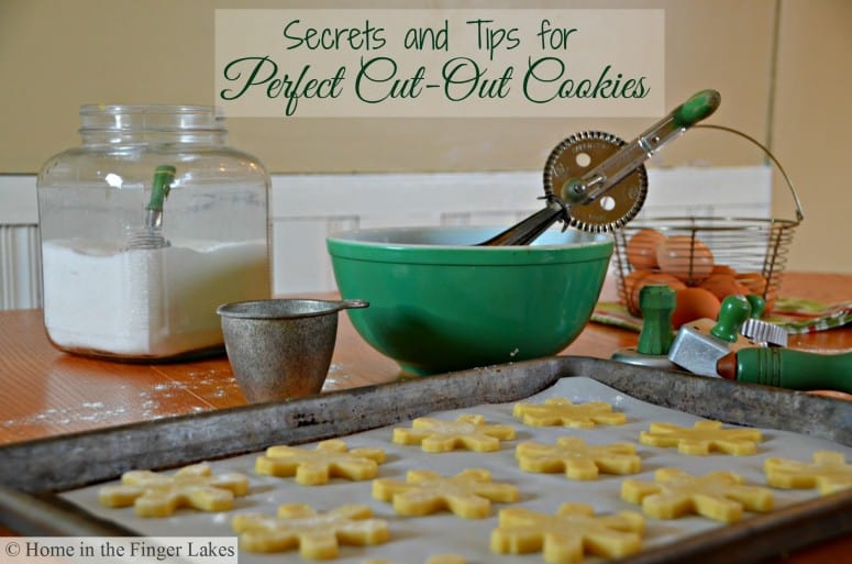 Secrets and tips for perfect cut-out cookies