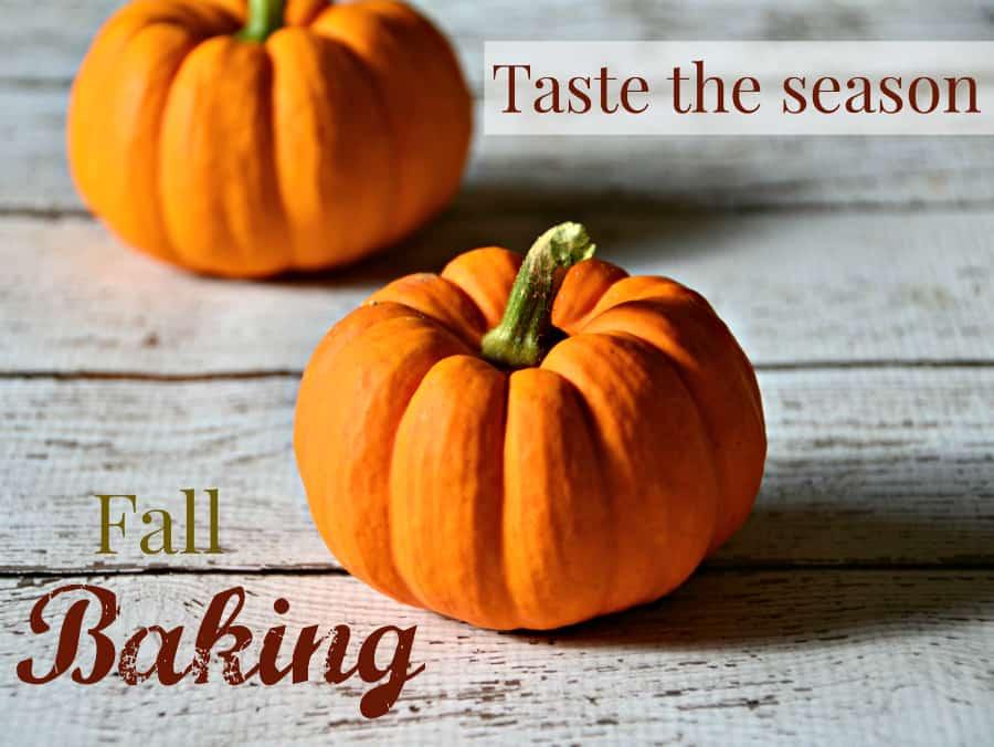 Fall Baking Recipe Round-Up