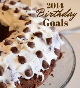 Birthday Goals