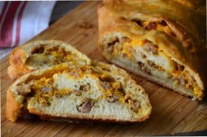 Savory Sausage and Cheese Bread