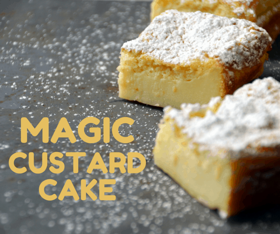 Magic Custard Cake