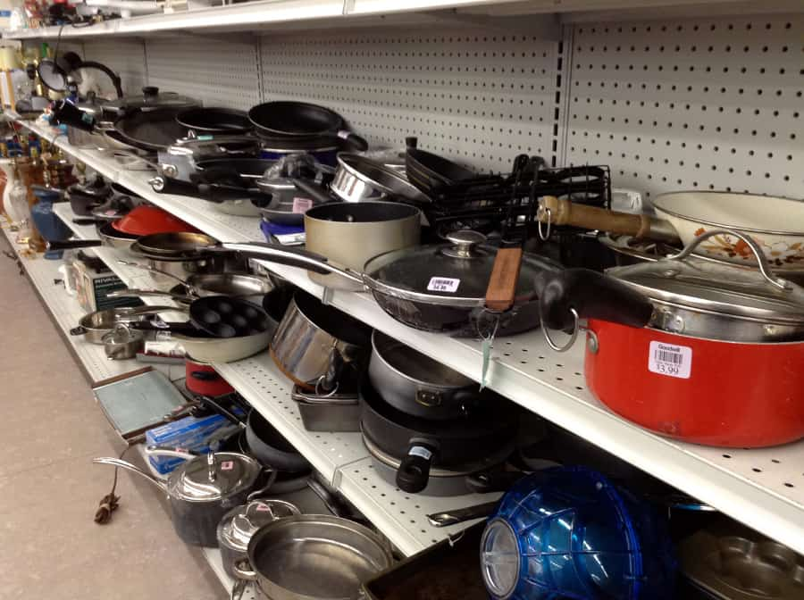 Kitchen Items you should buy at thrift stores