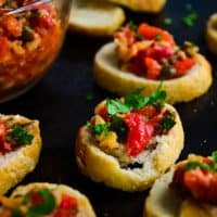Marinated Roasted Red Pepper Spread