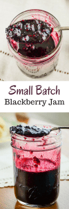 Small Batch Blackberry Jam