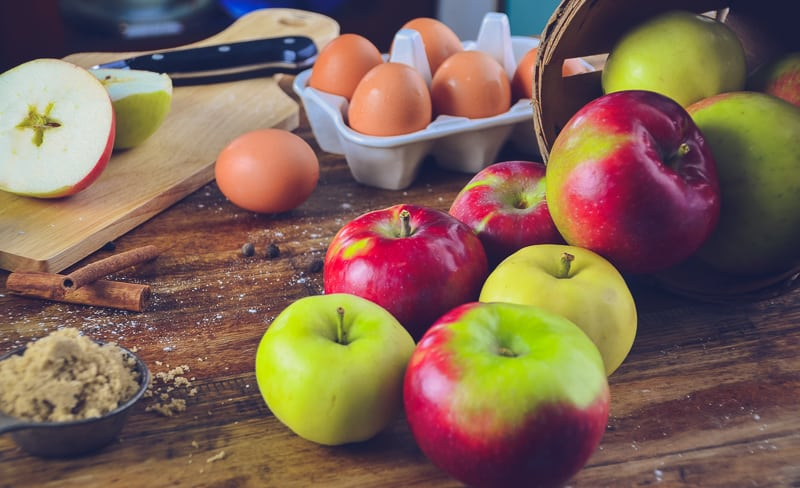 Fall Baking with Apples