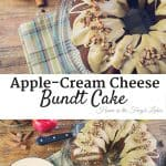 Apple-Cream Cheese Bundt Cake