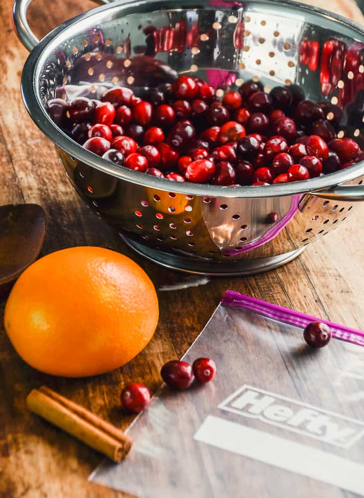 Stress Free Thanksgiving Tips & Make Ahead Spiced Orange Cranberry Sauce