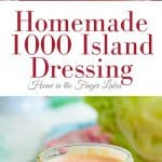 Homemade 1000 Island Dressing