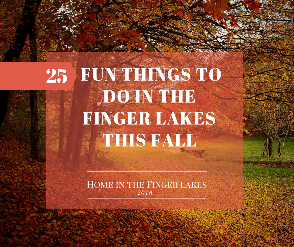 20 Fun Things to do in the Finger Lakes this Fall