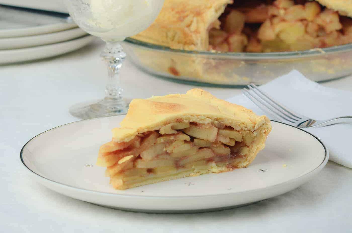Sibley's Department Store Bakery Apple Pie
