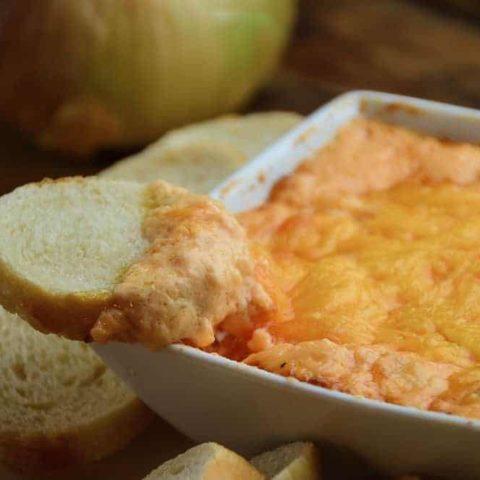 Creamy Baked Onion Dip