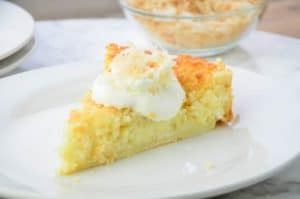 It is Possible to Make Impossible Coconut Pie with Homemade Baking Mix