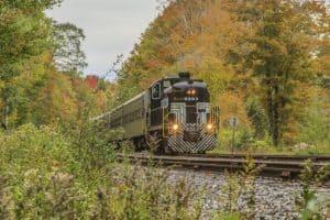 Upstate New York Scenic Fall Foliage Train Rides