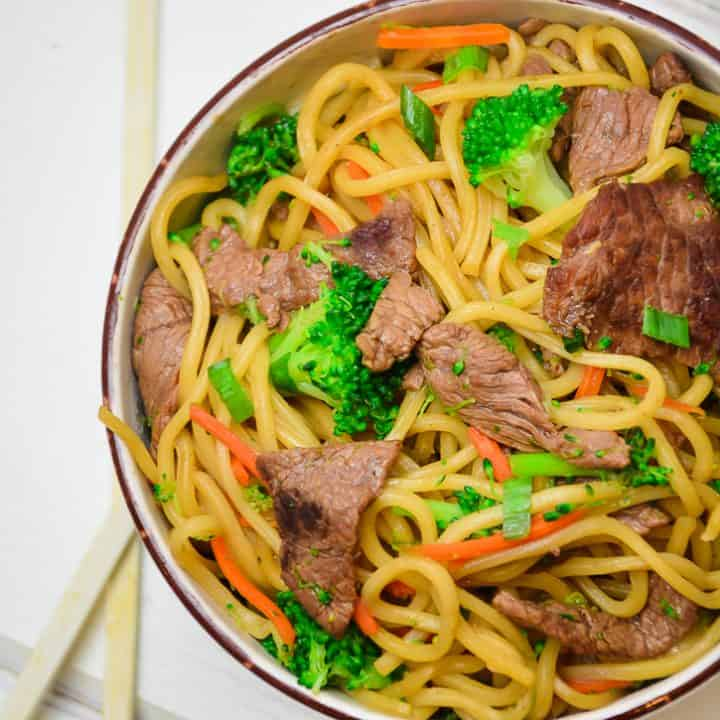 Beef and Broccoli Lo Mein Recipe