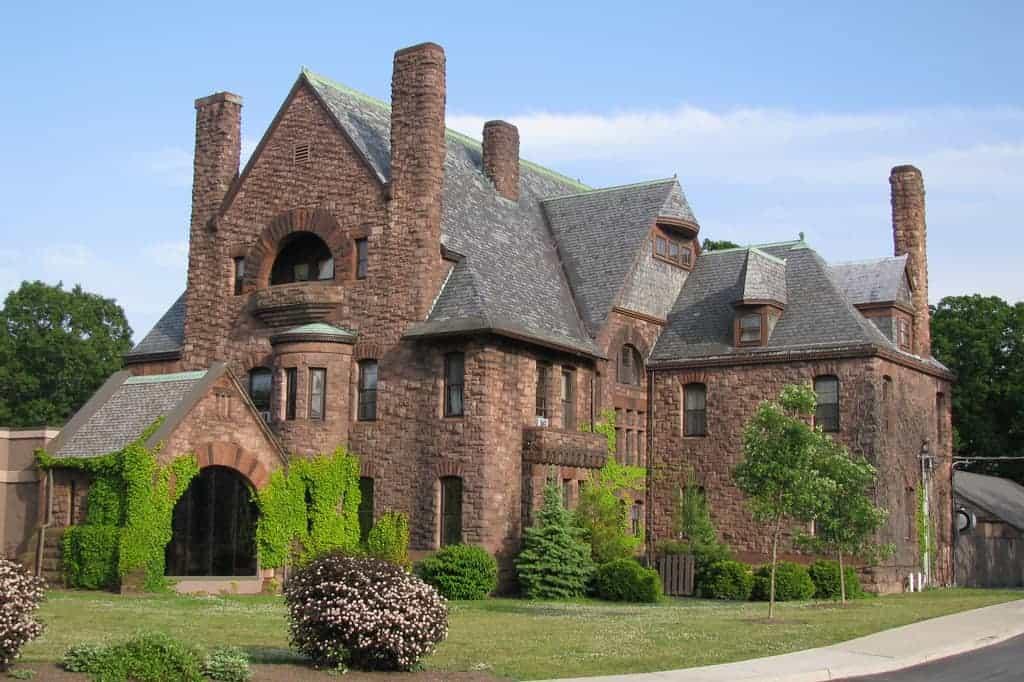 Exterior View of Belhurst Castle, Geneva NY