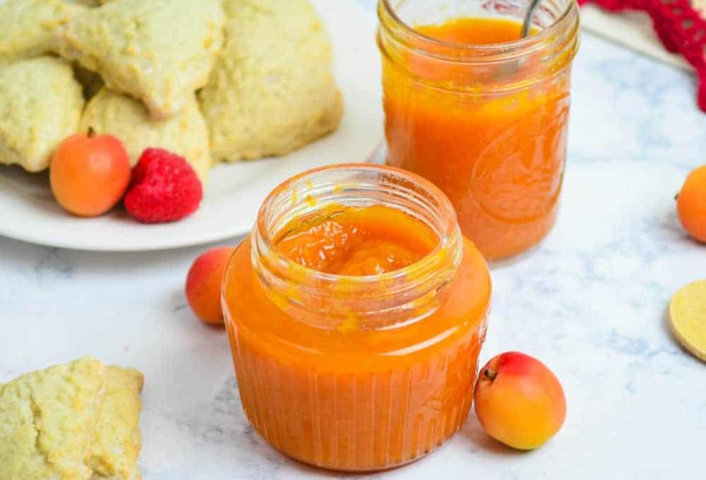 Small Batch Apricot Jam