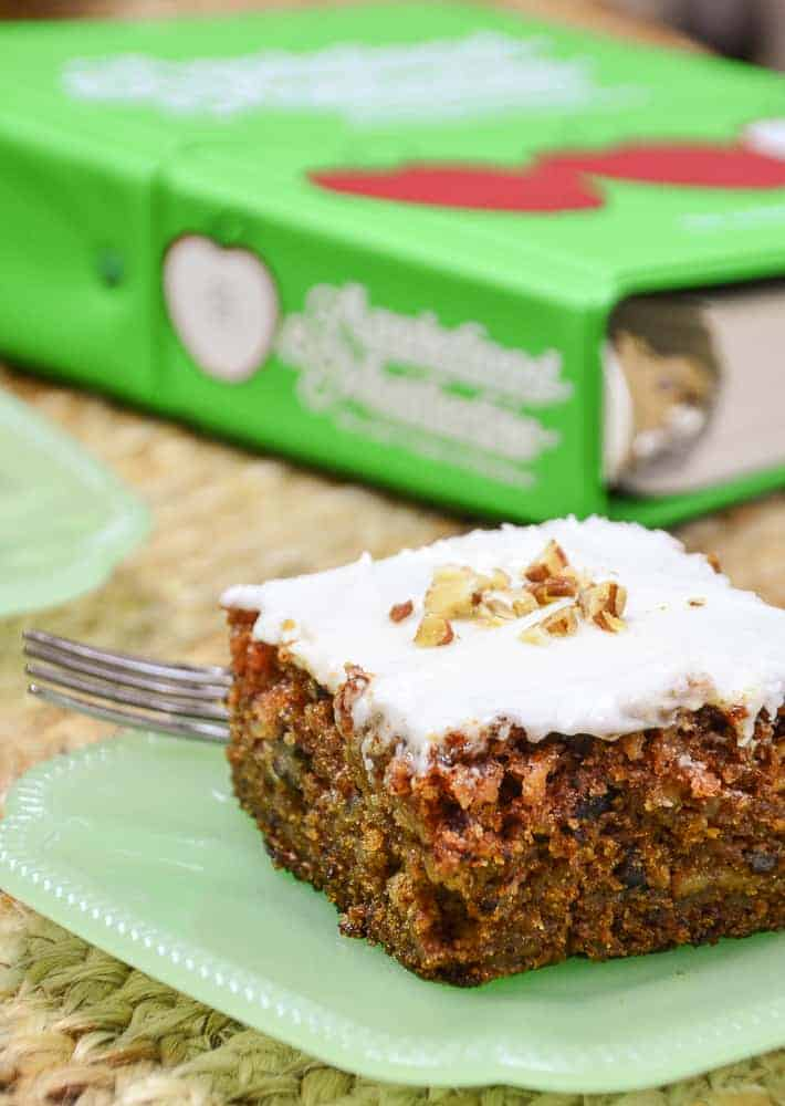 McCurdy's Department Store Apple Spice Cake