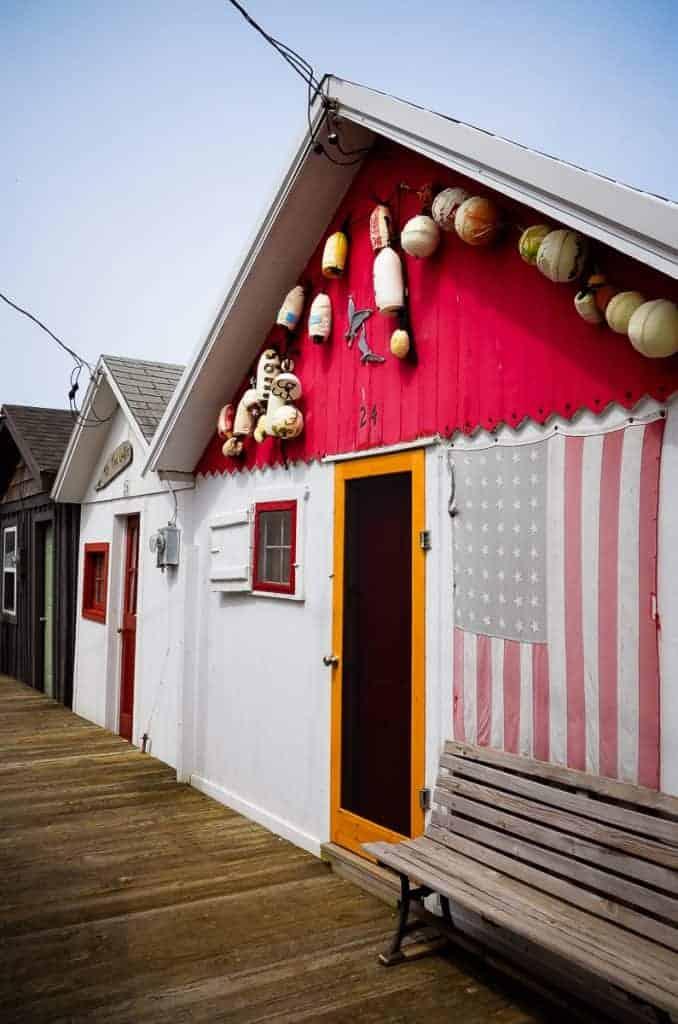 Historic Canandaigua Boathouses