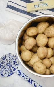 Syracuse Salt Potatoes in the Instant Pot