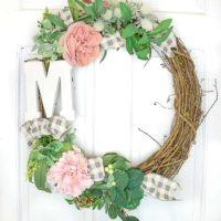 Easy Farmhouse Fall Wreath