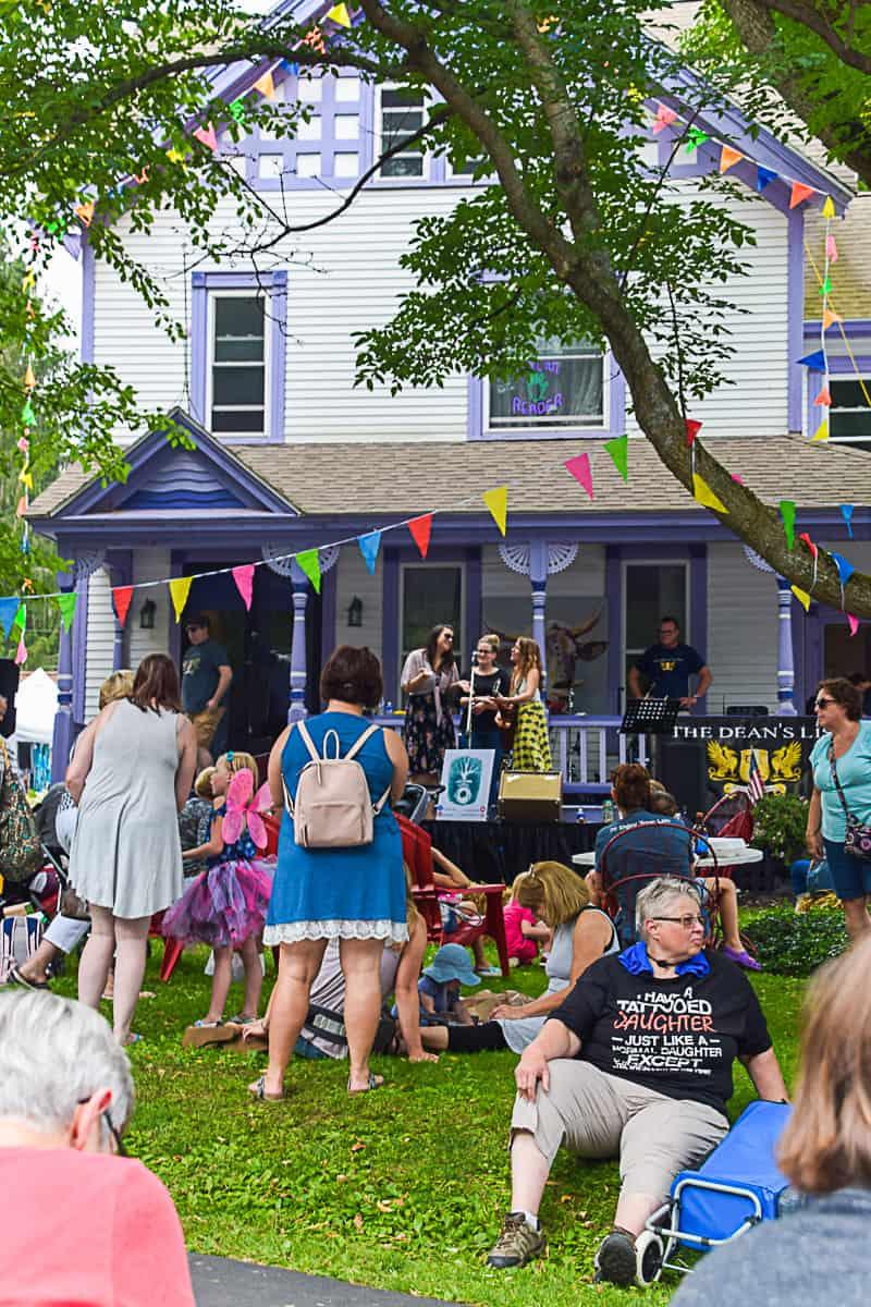 The Purple Painted Lady Art Festival