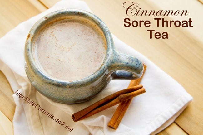 Cinnamon Sore Throat Tea