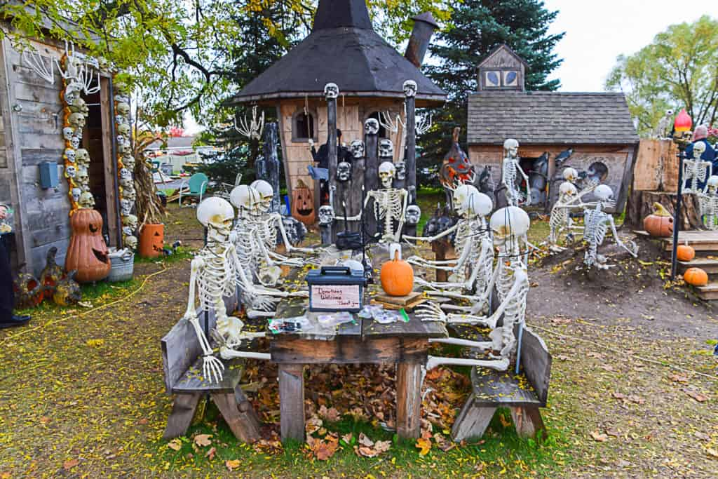 Halloween 2020 Events Canandaigua Ny Housel's Haunted House  The Upstate Halloween Display You Need to