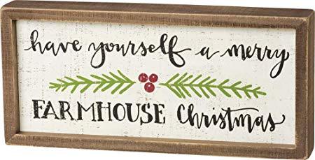 Merry Farmhouse Christmas Sign