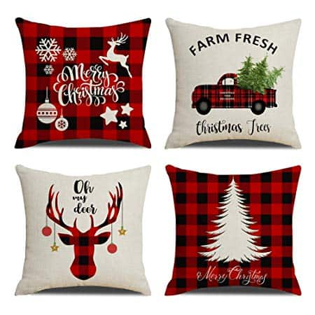 Christmas Pillow Covers