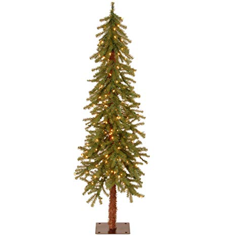 5-Foot Hickory Cedar Tree with Clear Lights
