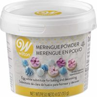 Wilton Meringue Powder Egg White Substitute, 4 oz.