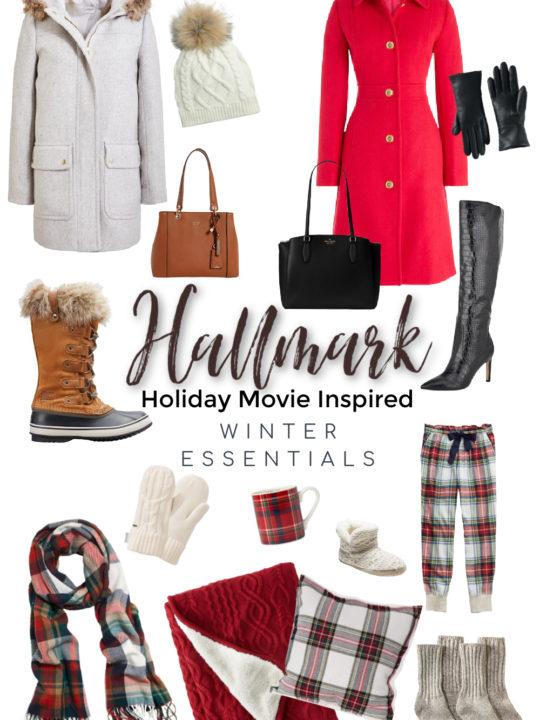 Hallmark Holiday Movie Inspired Winter Essentials